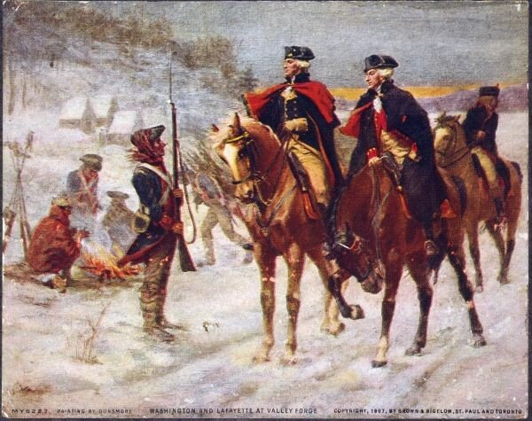 1280px-Washington_and_Lafayette_at_Valley_Forge.jpg 나라의 어원 찾기 04 - 감비아편
