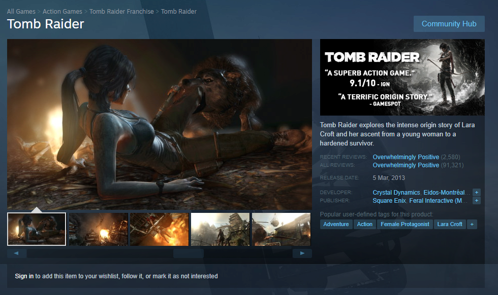 img3.png [스팀] Tomb Raider, LARA CROFT AND THE TEMPLE OF OSIRIS, Headsnatchers 무료 (0원) (무료)