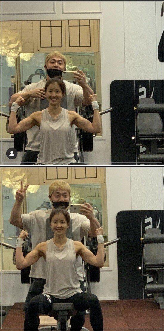 이시영 몸 근황.JPG 유튜브도 등산하는 컨텐츠로 만든 여자연예인 몸매.jpgif