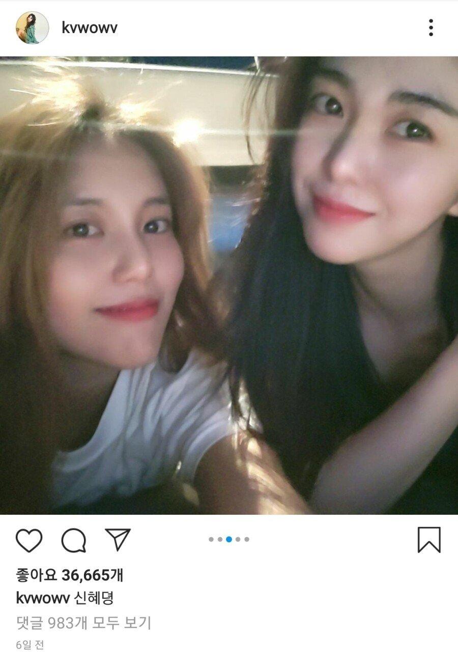 AOA에서 민아와 가장 친한 멤버.jpg
