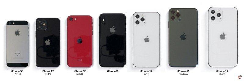 아이폰 12 예상 이미지