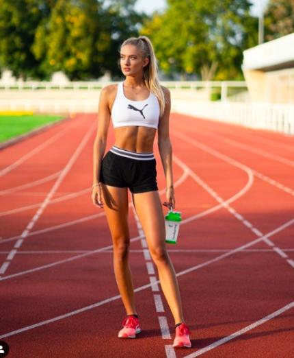 올해 세계에서 가장 섹시한 여성 스포츠 스타에 선정된 주인공