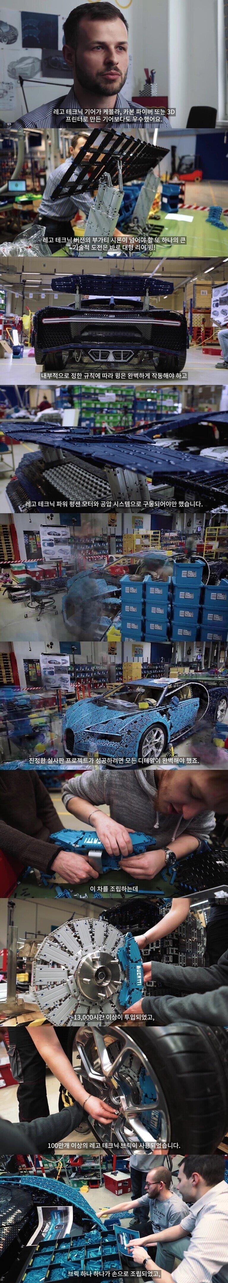 레고 테크닉 부가티 42083 - 불가능을 조립하다(다큐멘터리)-vert6.jpg 스압) 레고로 달리는 부가티를 만들다.Docu