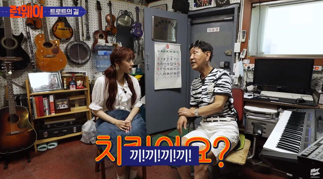 bandicam 2020-09-25 22-27-30-316.jpg 말이 통하는데 안통하는 여자 아이돌,jpg