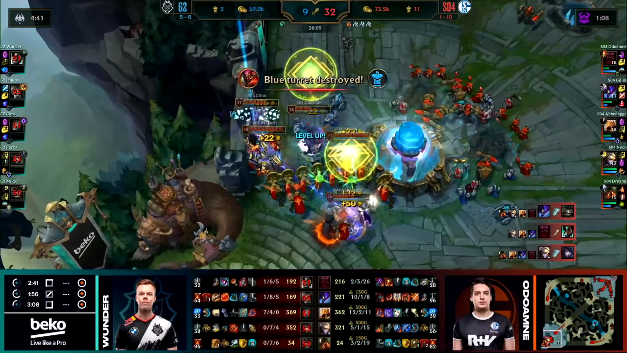 G2 vs S04 Highlights _ LEC Summer 2020 W6D1 _ G2 Esports vs Schalke 04 7-53 screenshot (1).png G2가 유일하게 아가리묵념 했을 때.jpg