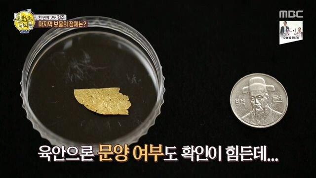 6.jpg 신라 궁궐터에서 발견한 가장 작은 유물.jpg