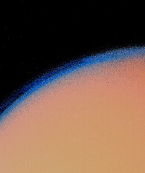Titan's_thick_haze_layer-picture_from_voyager1.jpg 인류 우주탐사의 역사(1974~현재)
