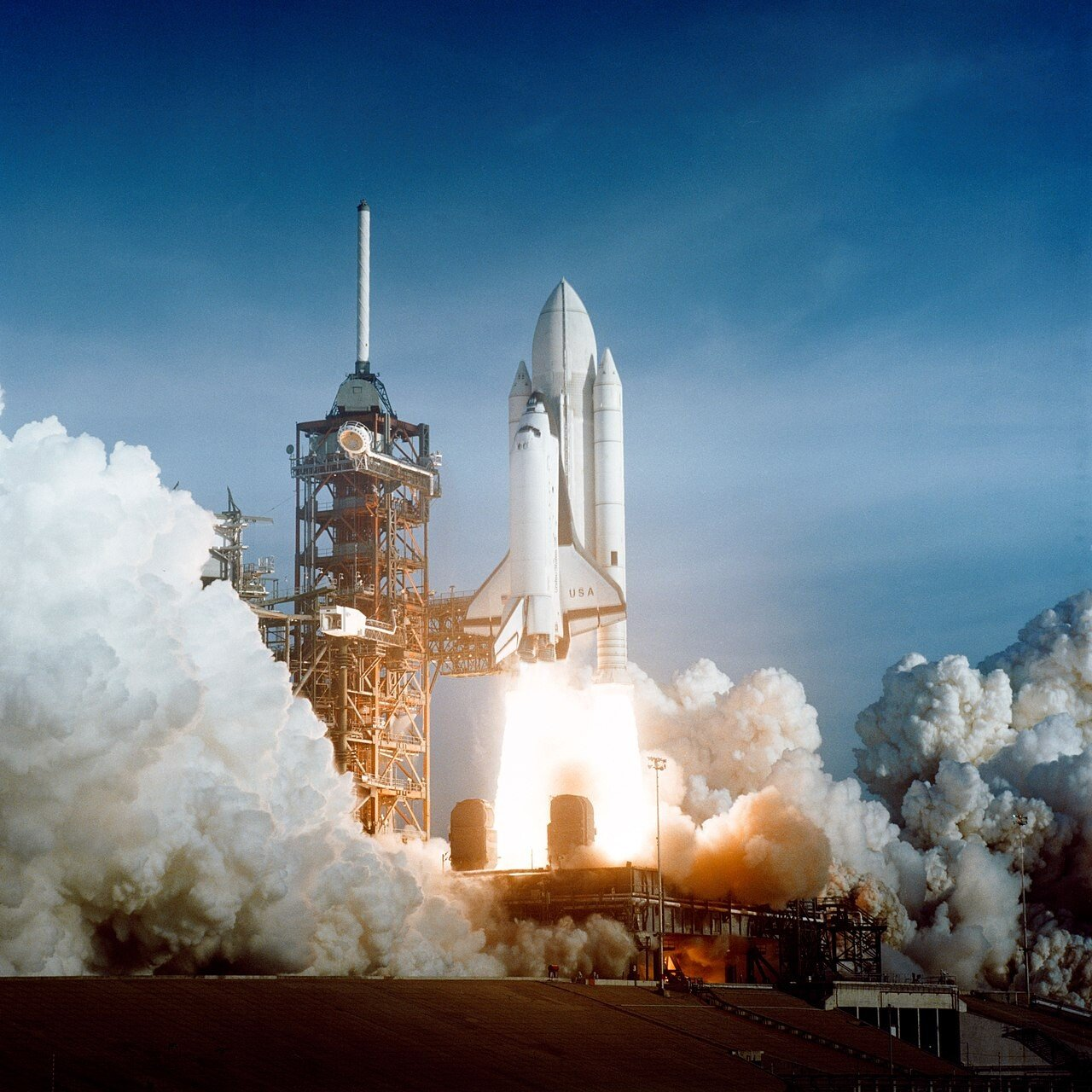 1280px-Space_Shuttle_Columbia_launching.jpg 인류 우주탐사의 역사(1974~현재)