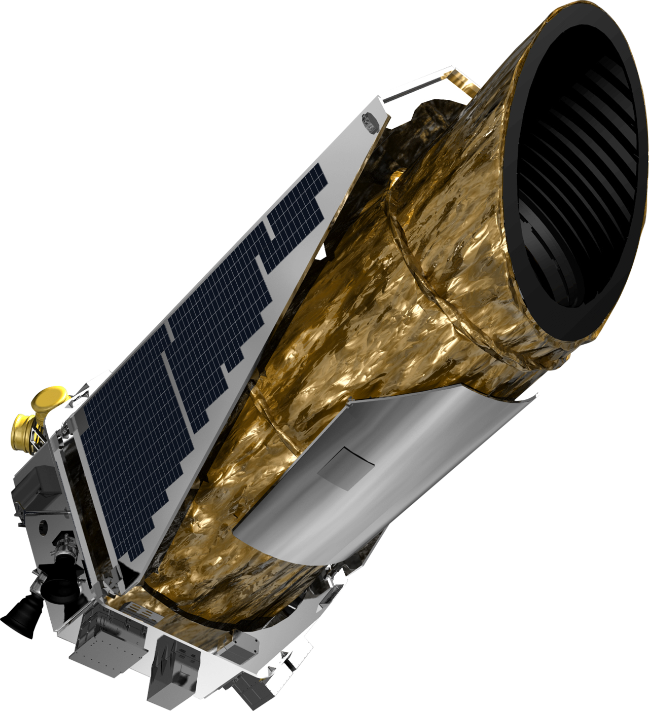 1280px-Kepler_Space_Telescope_spacecraft_model_2.png 인류 우주탐사의 역사(1974~현재)