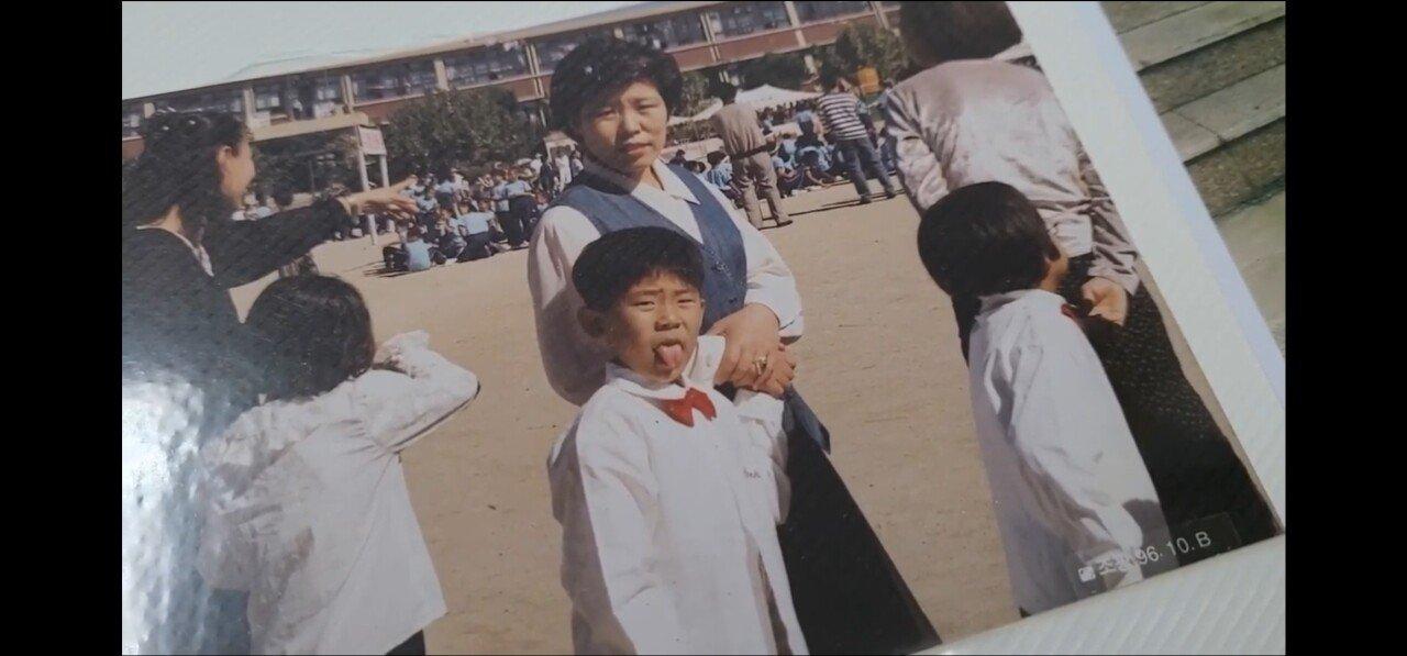 철구 100일사진및 어릴때모습feat연지