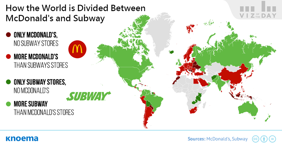 Knoema_Viz_of_the_Day_McDonalds_vs_Subway.png 세계 최고의 목록 - 기업편