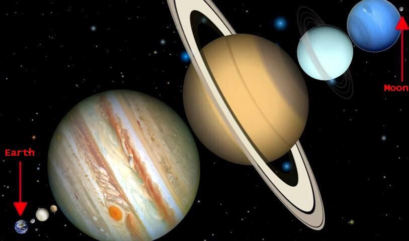4.jpg 충격적인 지구와 달 사이의 실제 거리