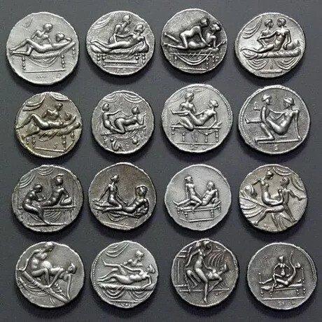 ㅇㅎ)로마놈들 취향이 담긴 동전