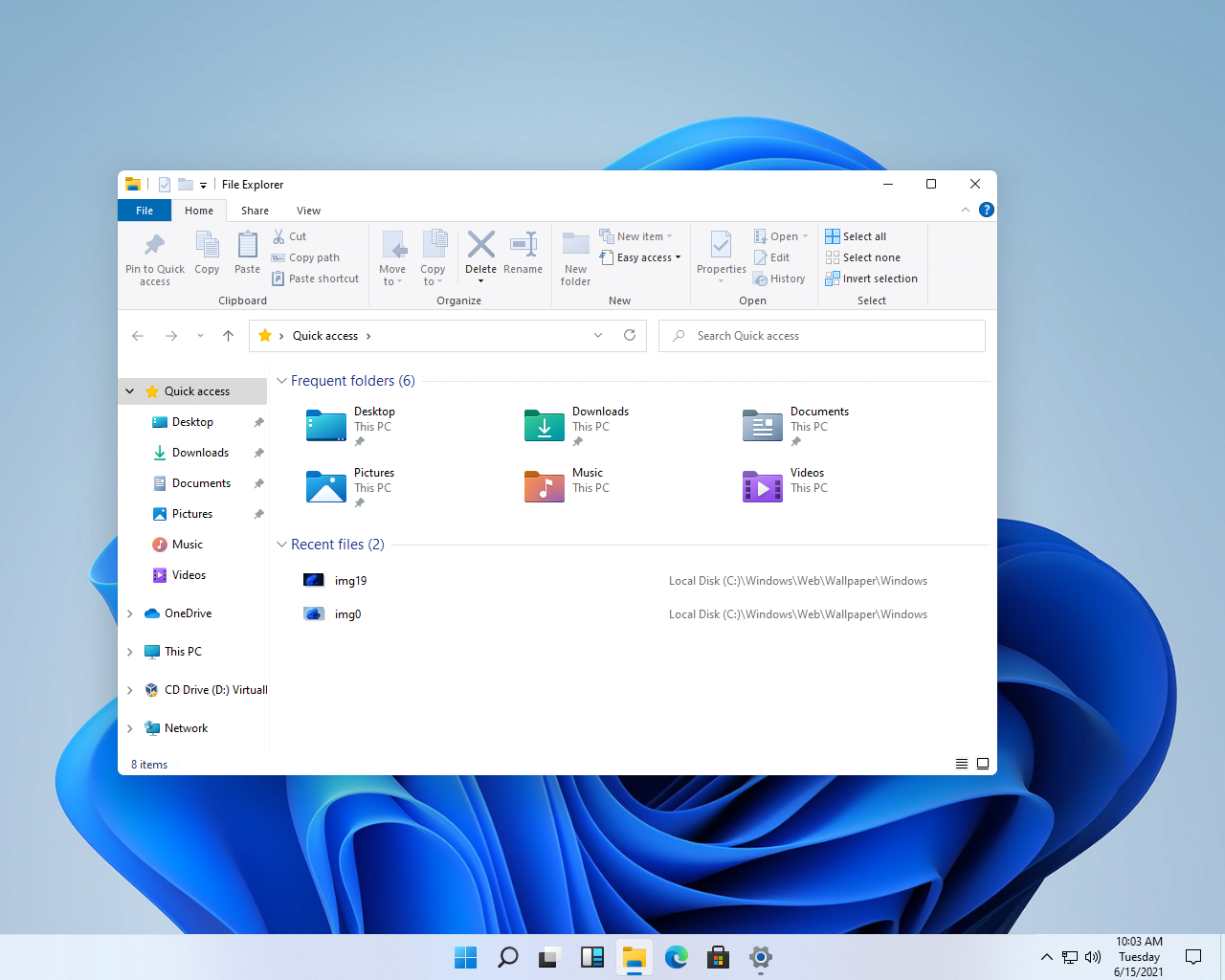 ui3.png 윈도우 11 유출 버전 인터페이스