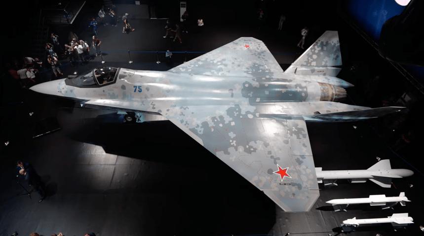 Checkmate-presentation-top.png 오늘 공개된 러시아의 신형 스텔스 전투기