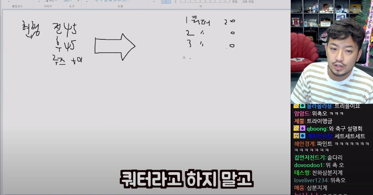 스크린샷 2021-07-22 09.18.58.png 축구인 침착맨이 제안하는 축구 개혁안