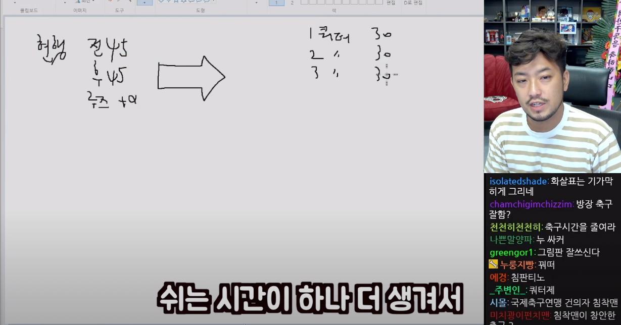스크린샷 2021-07-22 09.18.40.png 축구인 침착맨이 제안하는 축구 개혁안