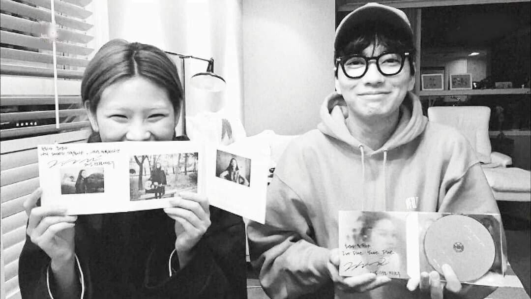 넷플릭스 오징어 게임으로 배우 데뷔한 모델 정호연 배우 이동휘와 6년째 열애 중