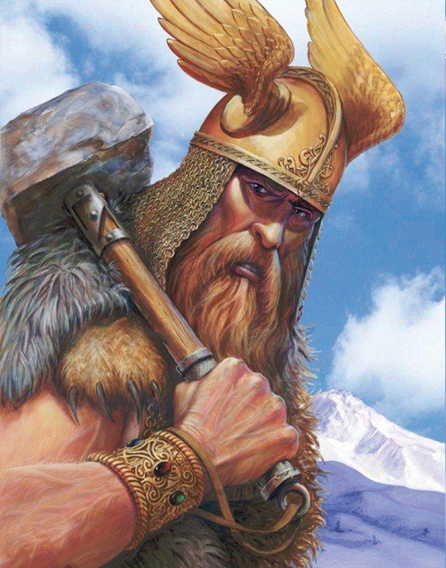 Древние боги викингов картинки