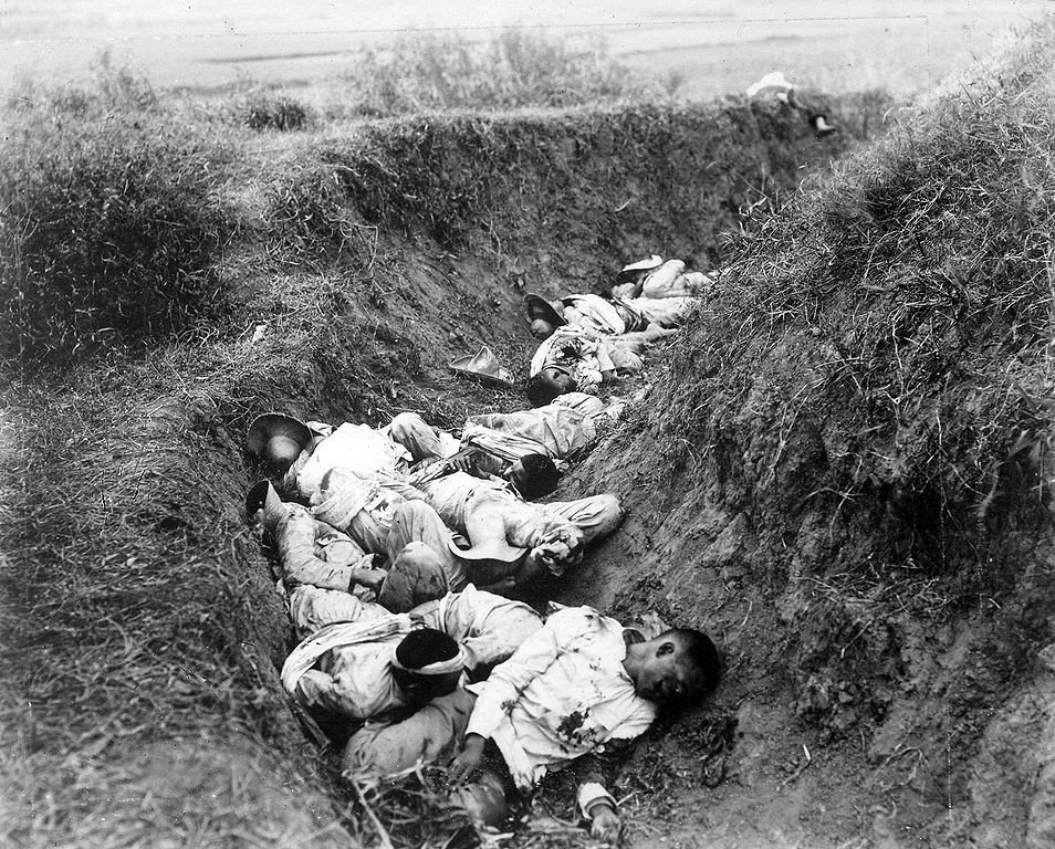 954px-Filipino_casualties_on_the_first_day_of_war.jpg 미국이 필리핀에서 벌인 학살.jpg