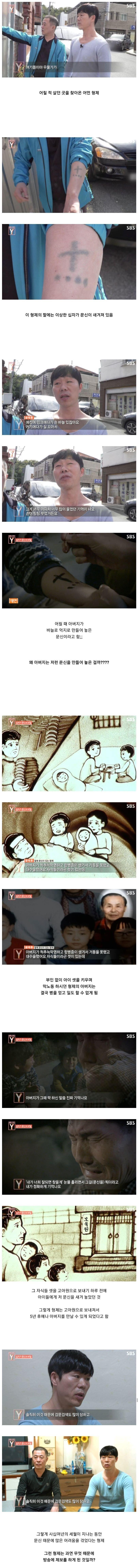1.jpg 초스압)어린 자식들 팔에 억지로 문신을 새긴 아버지.jpg
