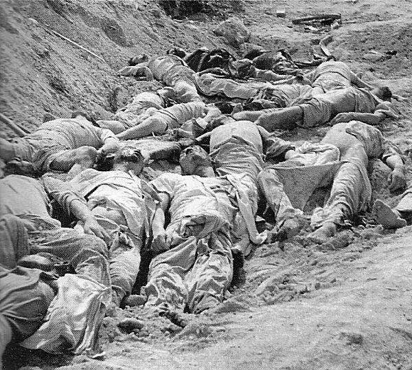 6.25 전쟁 중 북한군에 의해 자행된 학살들