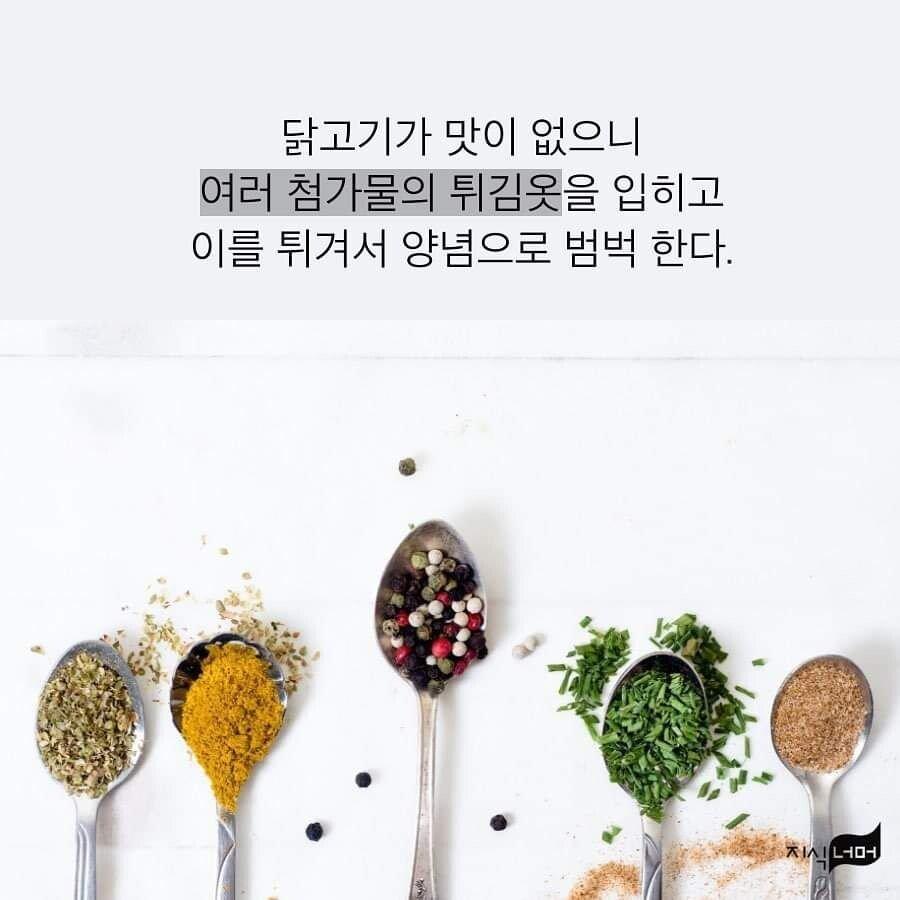 한국 치킨은 맛이 없다는 요리 평론가