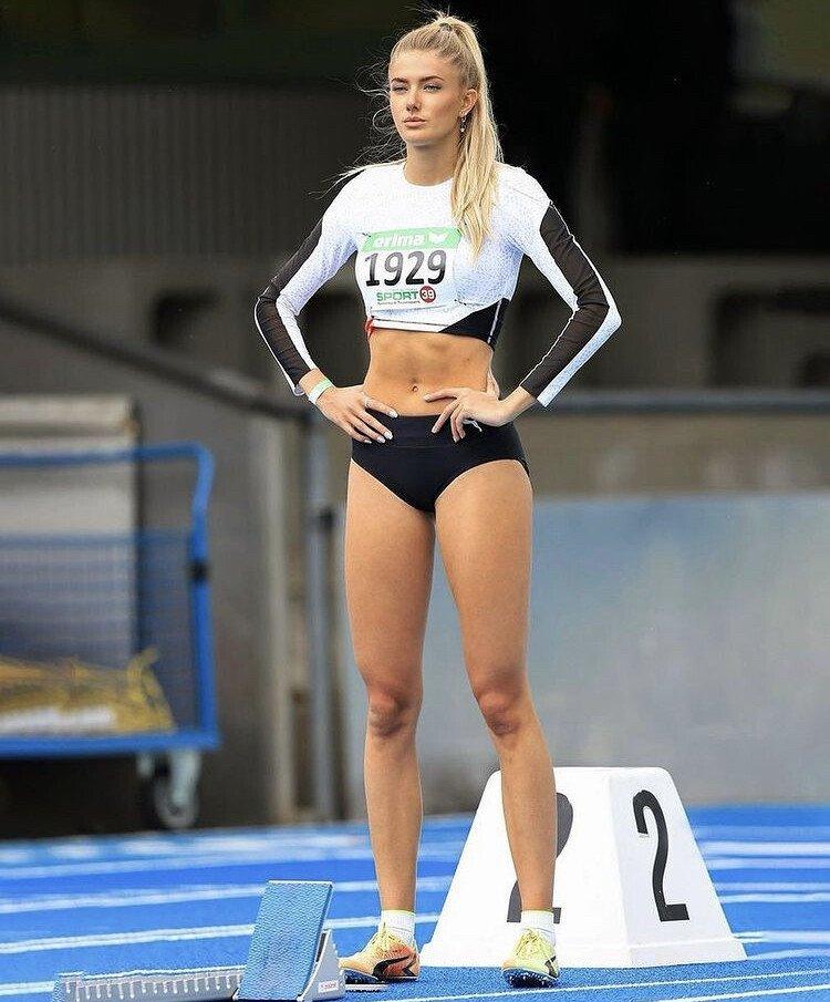ㅇㅎ) 독일의 섹시한 육상 선수 ㄷㄷㄷ